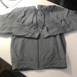 American Apparel gray unisex hoodie size medium